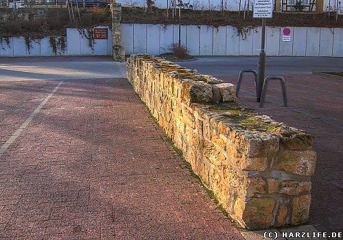 Die Stadtmauer von Blankenburg