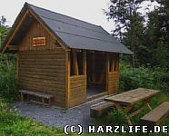 Schutzhütte an der Eisenquelle