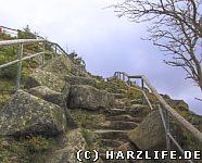 Achtermann Aufstieg zum Gipfel