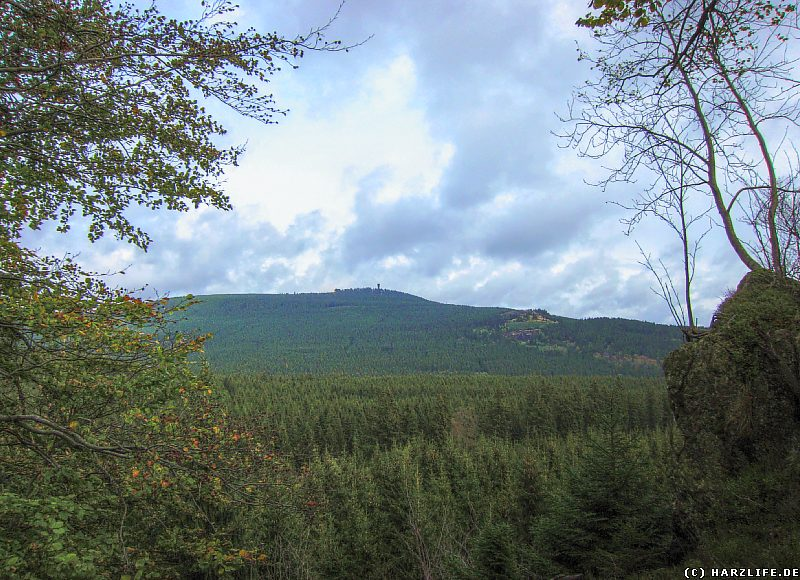 Blick vom Jermerstein zum Wurmberg
