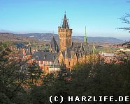 Schloss Wernigerode vom Agnesberg