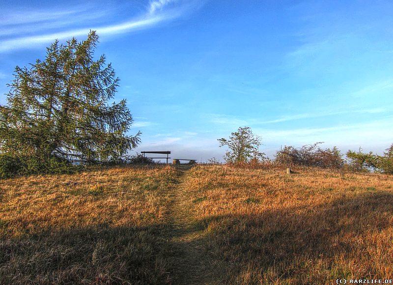 Der Aussichtspunkt auf dem Steinbergkopf
