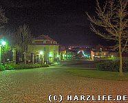 Ballenstedter Allee bei Nacht