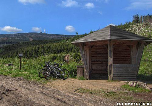 Die Bremer Hütte im Ilsetal