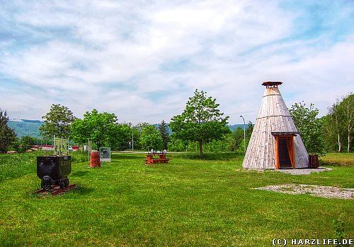 Der Eisenhüttenpark in Ilsenburg