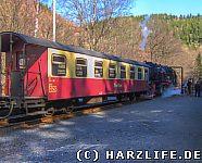 Harzquerbahn Bahnhof Eisfelder Talmühle