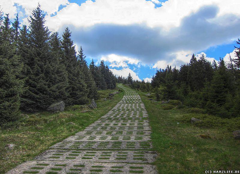 Auf dem Hirtenstieg zum Brockengipfel