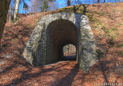 Bahndamm der Hüttenbahn
