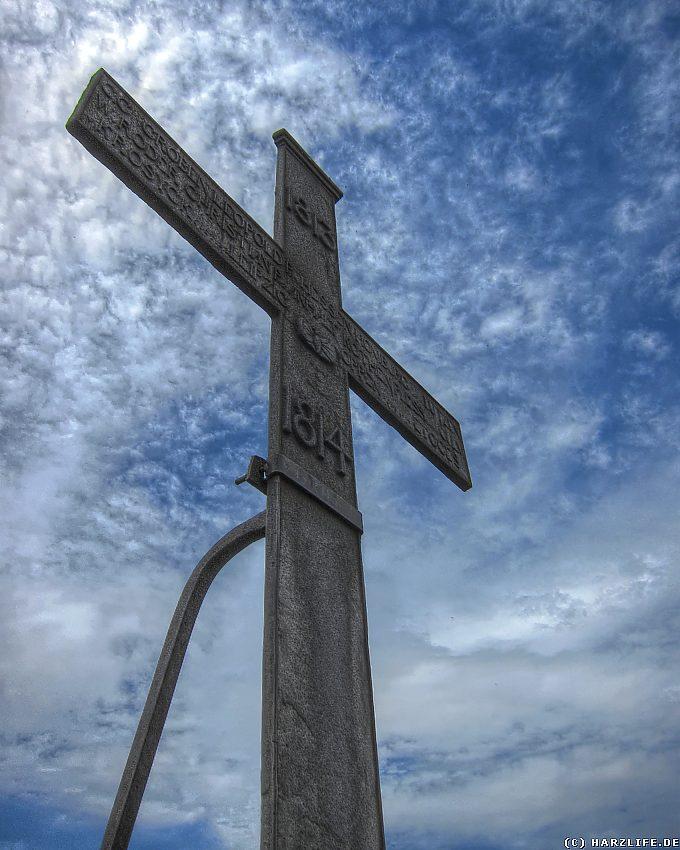 Das Gipfelkreuz auf dem Ilsestein