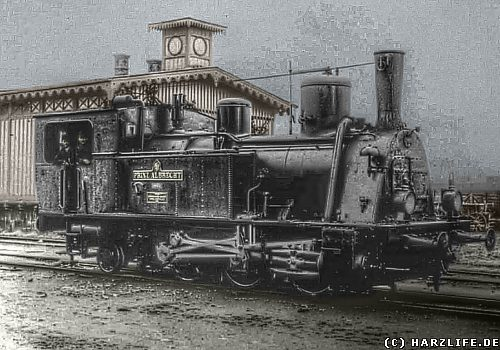 Dampflok der Harzer Zahnradbahn