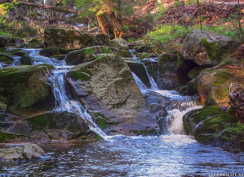 Oberster Wasserfall der Ilse