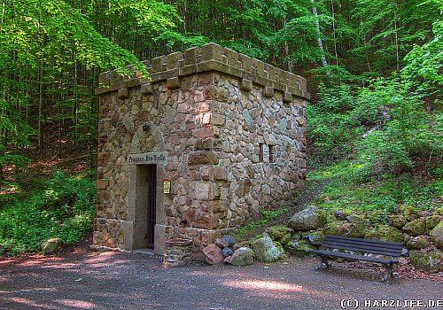 Die Prinzess-Ilse-Quelle bei Ilsenburg im Harz