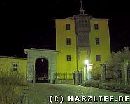 Ballenstedt Schloß bei Nacht