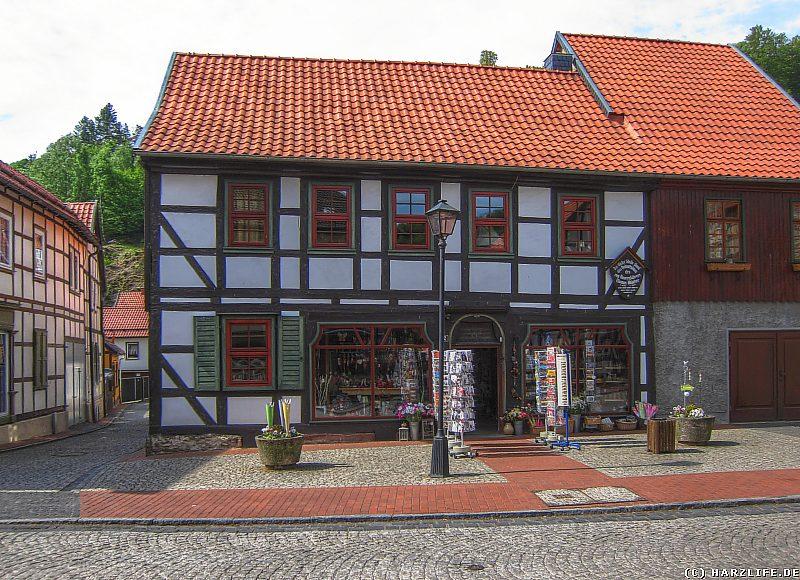 Stolberg - Der Standort des einstigen Geburtshauses von Thomas Müntzer