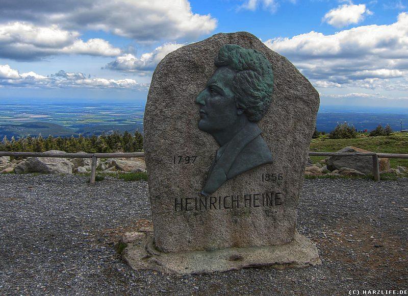 Das Heine-Denkmal auf dem Brocken