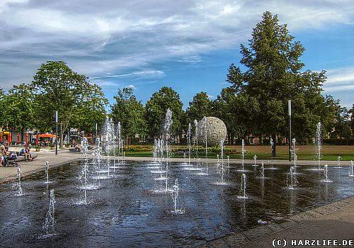 Der Park Herrenbreite in Aschersleben