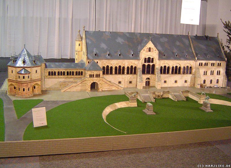 Das Modell der Kaiserpfalz in Goslar