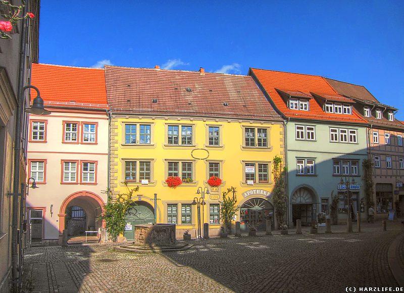 Der Kornmarkt in Sangerhausen
