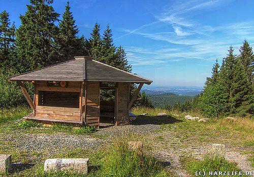 Die Magdeburger Hütte im Harz