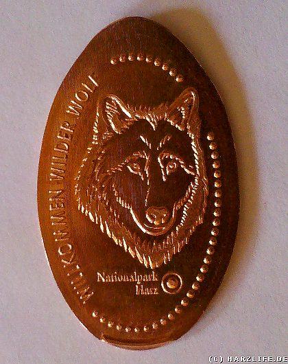 Willkommen Wilder Wolf sagt der Nationalpark Harz