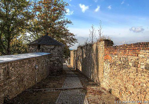 Stadtmauer in Sangerhausen