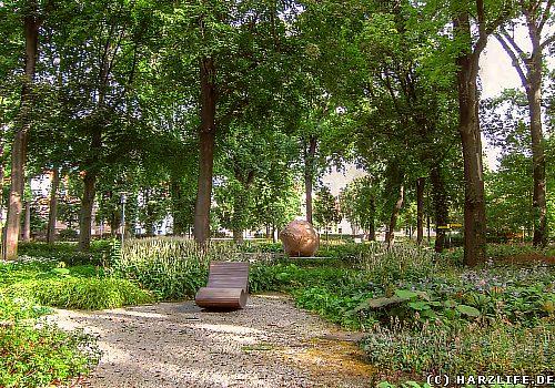 Der Stadtpark in Aschersleben