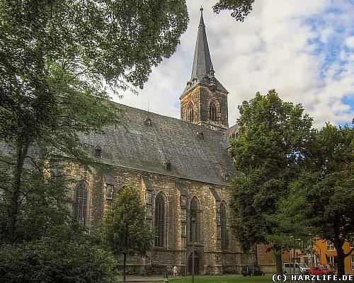 Die St.-Stephani-Kirche in Aschersleben