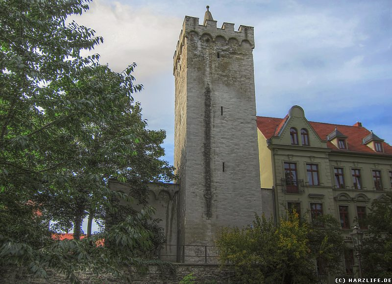 Der Turm am Marsfeld in Aschersleben