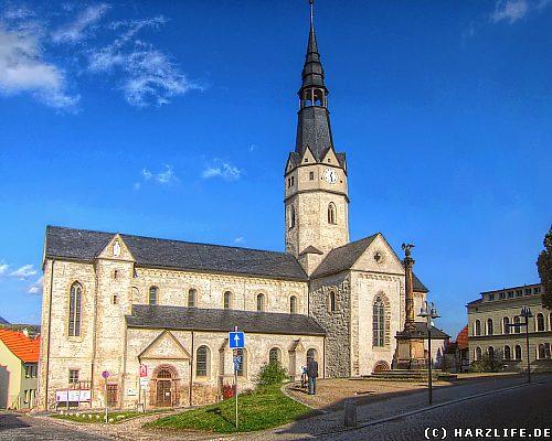 Die Ulrichkirche in Sangerhausen