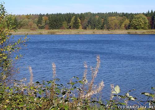 wandern im Harz - Wasserwanderweg Hirschler Teich / Pfauenteiche