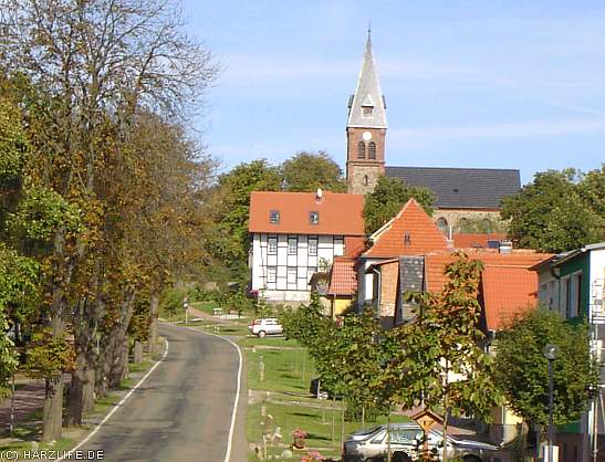 Friedrichsbrunn - Ortsansicht mit Kirche