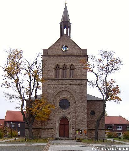 Die neogotische Stadtkirche