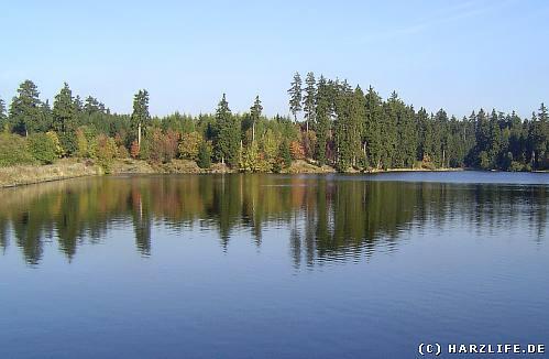 Der Ziegenberger Teich bei Buntenbock