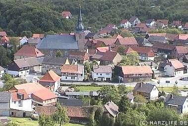 Blick auf Heimburg