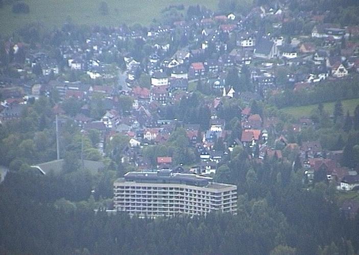 Braunlage vom Wurmberg aus gesehen