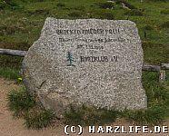 Gedenkstein zur Maueröffnung