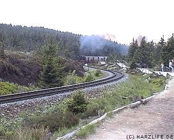 Brockenbahnvideo - erstes Bild