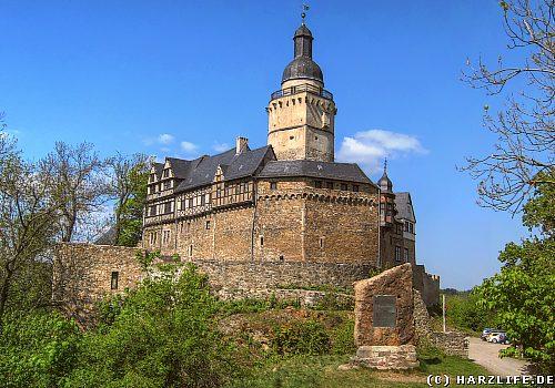 Die Burg Falkenstein