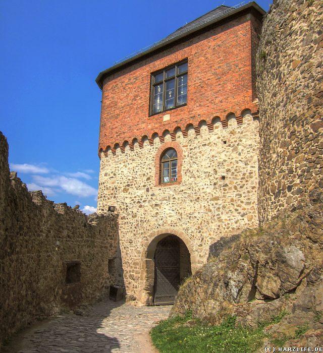 Burg Falkenstein - Das Dritte Burgtor