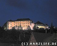 Das Große Schloß bei Nacht