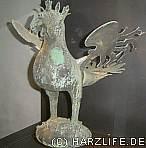 Bronzener Greif aus dem 13. Jahrhundert