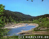 Langetal - Westende des Okerstausees