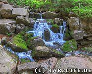 Oberer Bodewasserfall