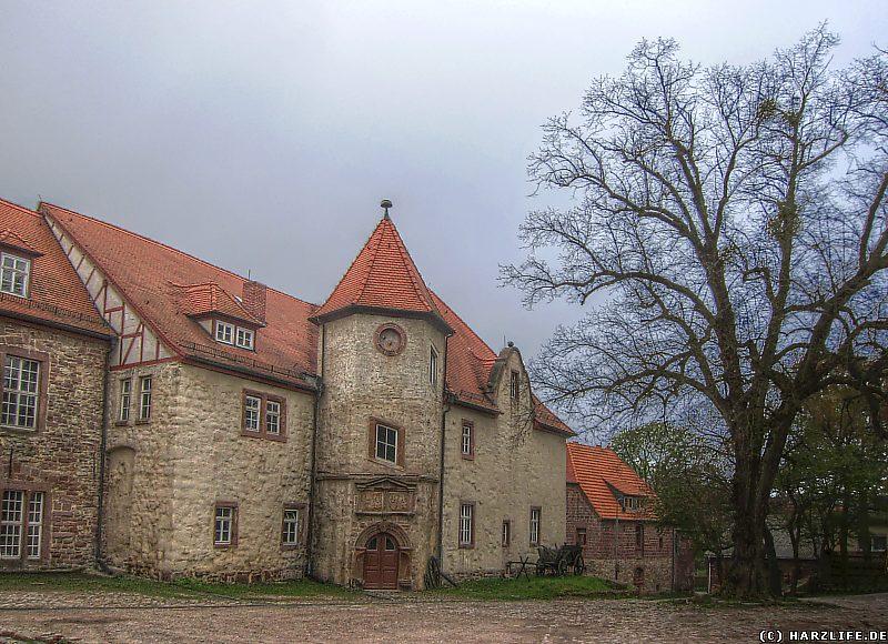 Auf dem Gelände des Gutes Klosterrode in Blankenheim
