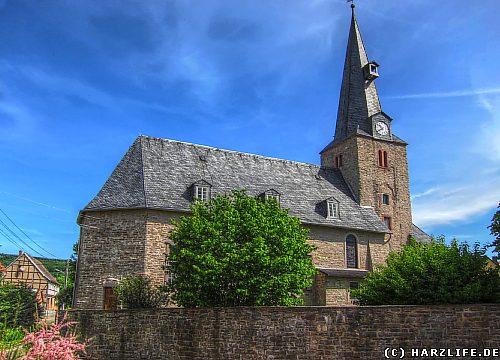 Die St.-Michaelis-Kirche in Großleinungen