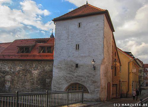 Der Brückentorturm in Hettstedt