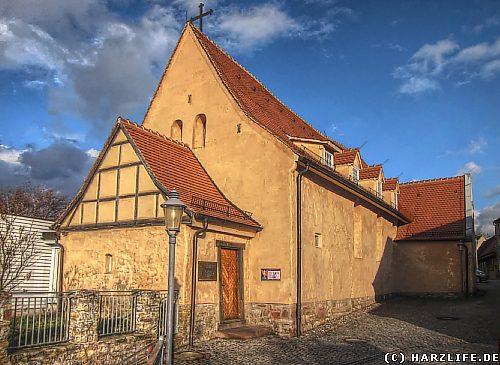 Die Gangolfkirche in Hettstedt
