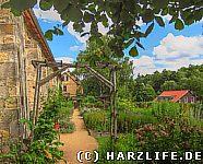 Im Kräutergarten