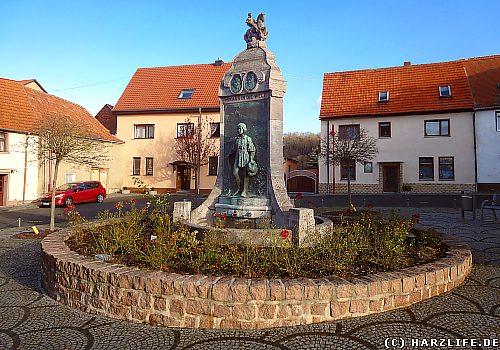Lutherbrunnen Mansfeld