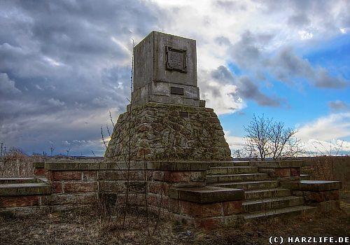 Das Maschinendenkmal bei Hettstedt